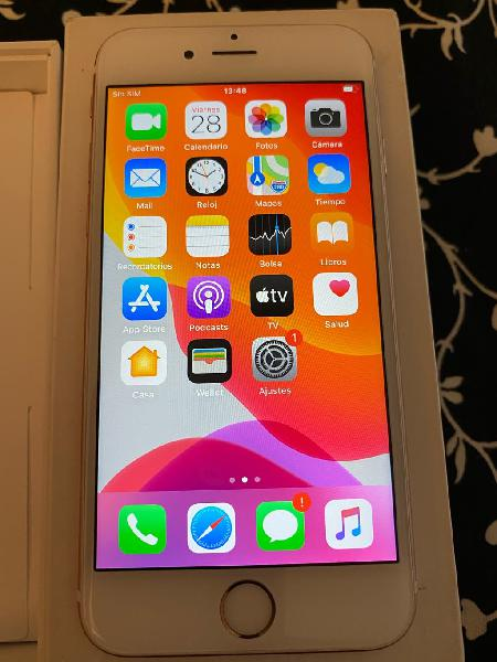 Iphone 6s 16gb oro rosa impecable