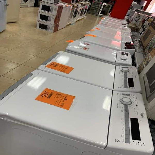 lavadora, lavasecas y secadoras carga superior 40%