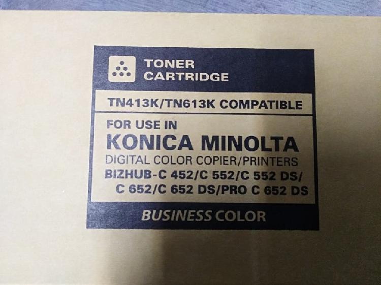 Toner konica minolta c452/c552/c652 negro
