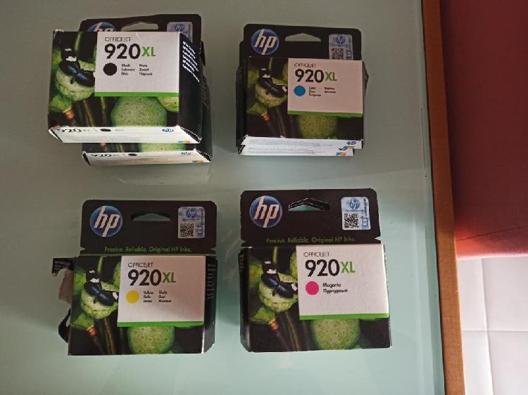 Vendo cartuchos tinta 920 xl
