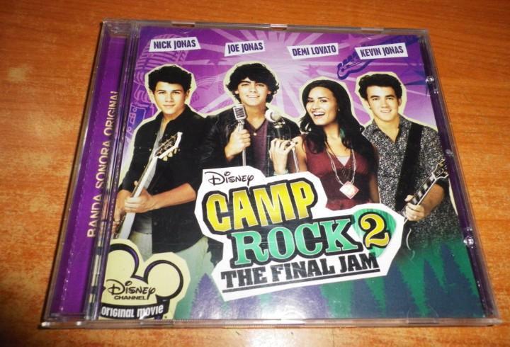 Camp rock 2 the final jam banda sonora cd demi lovato the