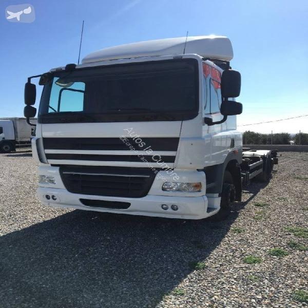 Camión daf portacontenedores cf85 360 6x2 diesel euro 5