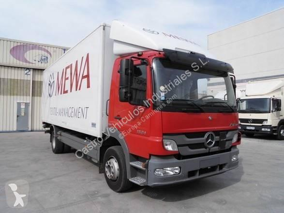 Camión mercedes furgón atego 1524 nl 4x2 diesel euro 5