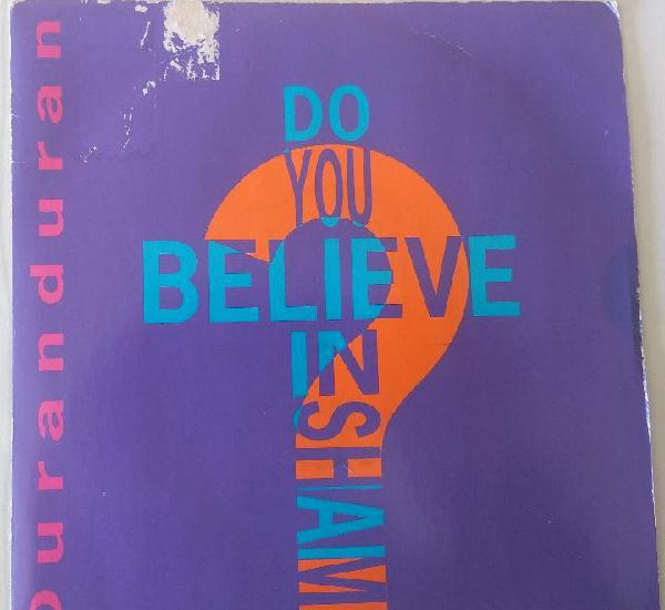 Duran duran - do you believe in shame emi edic. inglesa -