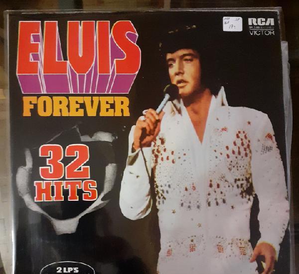 Elvis forever 32 hits. 2 lp. gatefold. rca spl 2 9911.