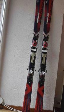 Esquís carving - salomon tornado wing