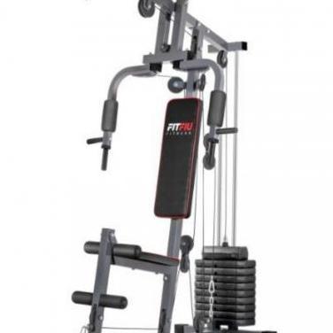 Fitfiu - máquina musculación gym-100 multiesta...