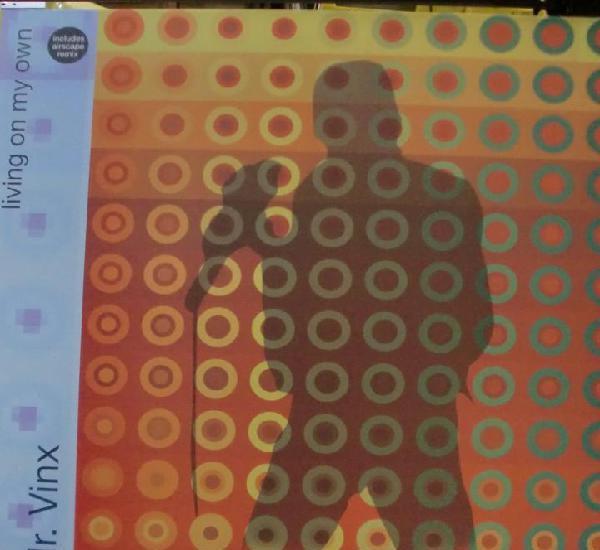 Mr. vinx - living on my own maxi single spain 2001