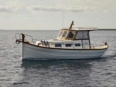 Menorquin yachts 44 toldilla