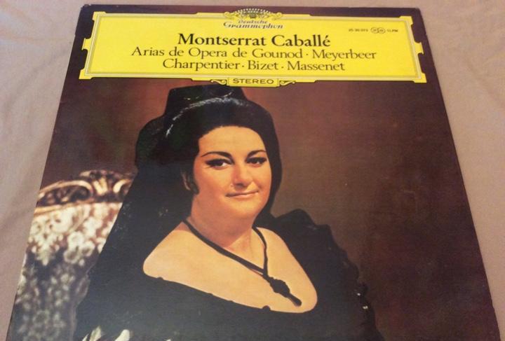 Montserrat caballé. arias de ópera de gounod/meyerbeer/