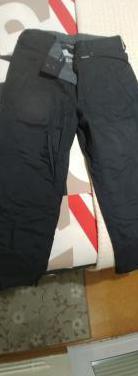 Pantalon snow burton talla l, negro