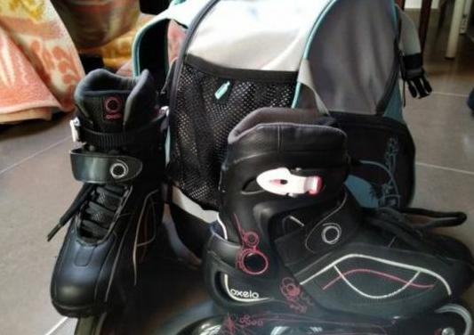 Patines linea mochila kit