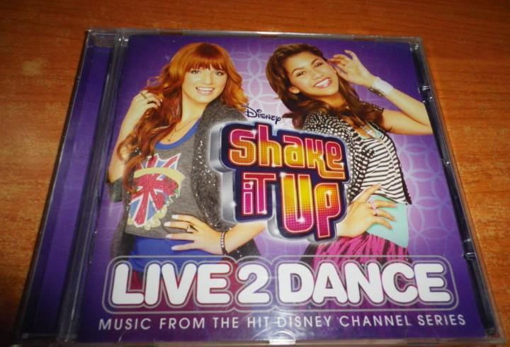 Shake it up live 2 dance banda sonora cd disney selena gomez