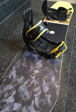 Tabla snowboard salomon super 8 xl