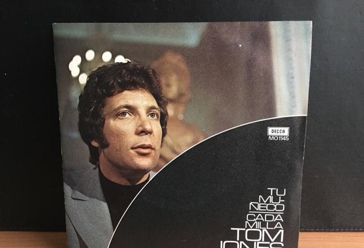 Tom jones - tu muñeco / cada milla (single) (decca) mo 1145