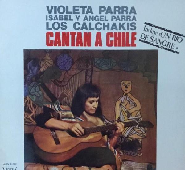 Violeta parra + isabel y angel parra - los calchakis cantan