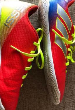 Zapatillas fútbol adidas messi y nike 36