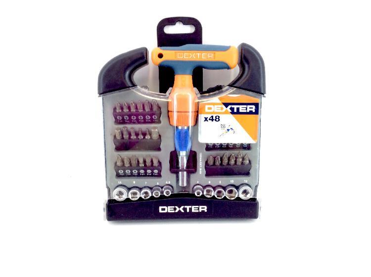 Kit herramientas variadas kit dexter x48