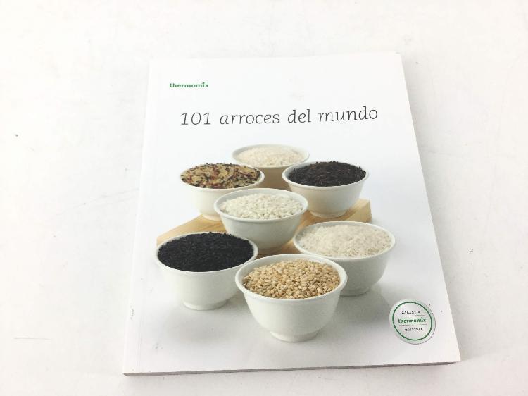 Libro cocina vorwerk 101 arroces del mundo libro fisico