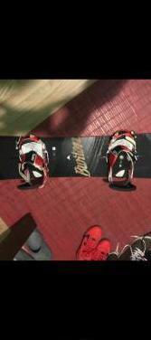 Tabla de snowboard burton 154cm con fijaciones