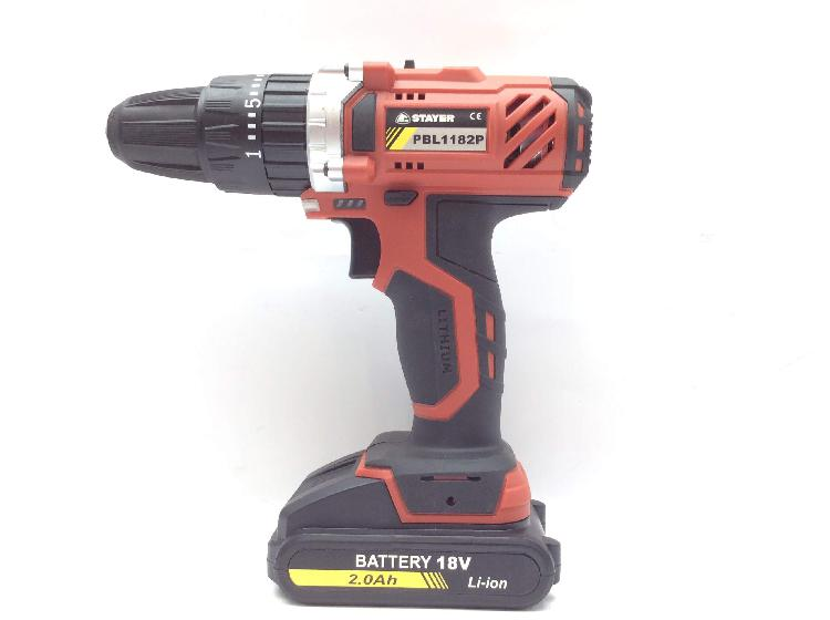Taladro a bateria stayer pbl1182p