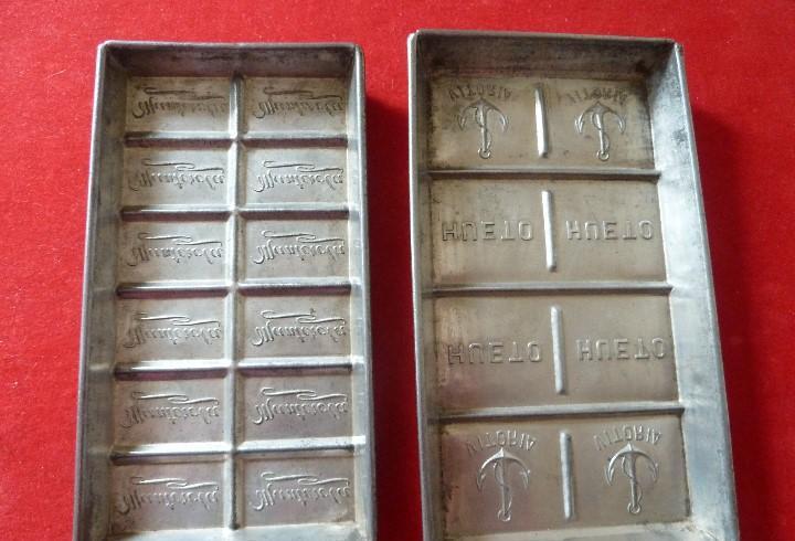 Antiguos moldes para tabletas