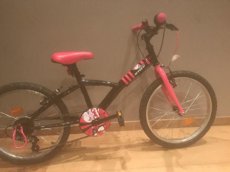 """Bicicleta niña 20"""" con marchas"""