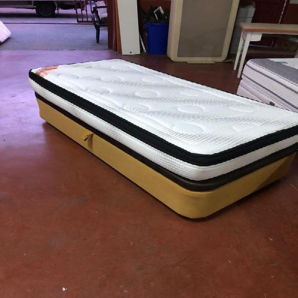 Canape lateral 90x1.90 + colchón visco