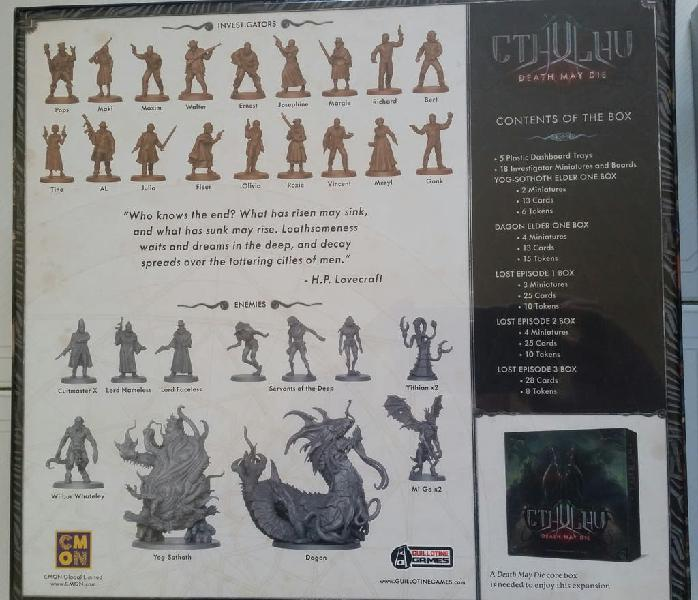 Cthulhu death may day, version ks con extras exclu