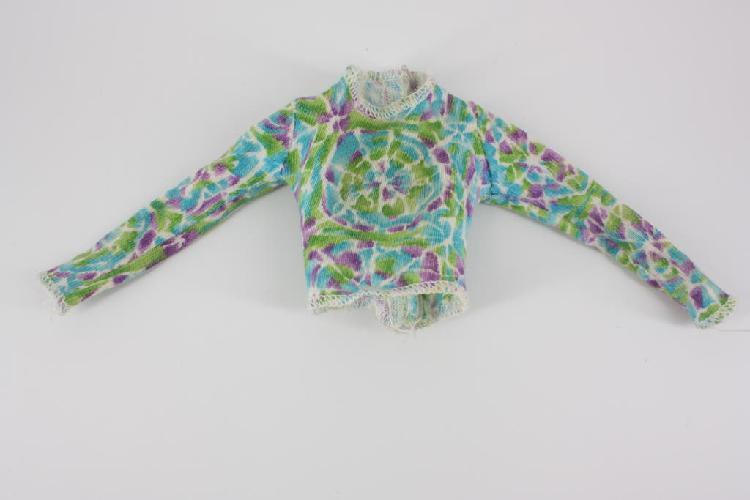 Camiseta original tie dye barbie / tiñe y diseña