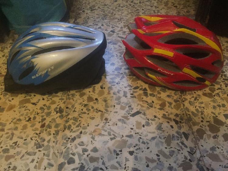 Cascos bicicleta niño adulto bici casco rojo azul