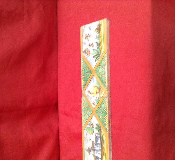 Cenefa de triana una pareja medidas 20 cm x 10 cm