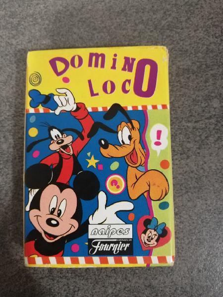 Dominó Loco Disney Fournier