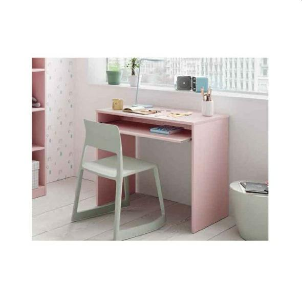 Escritorio infantil diseño rosa
