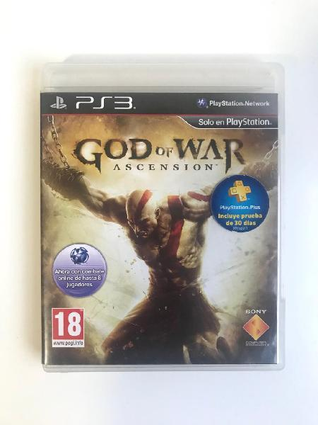 God of war ascension para play station 3