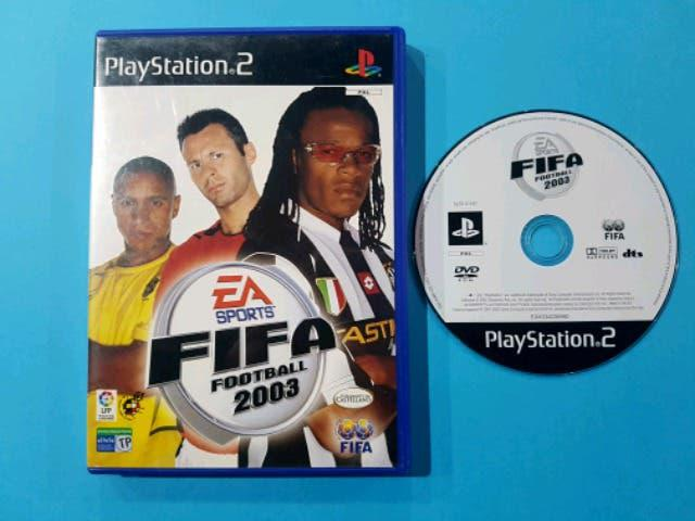 Juego pc fifa football 2003