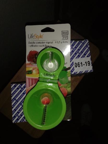 Nuevo!!! cortador verduras espiral