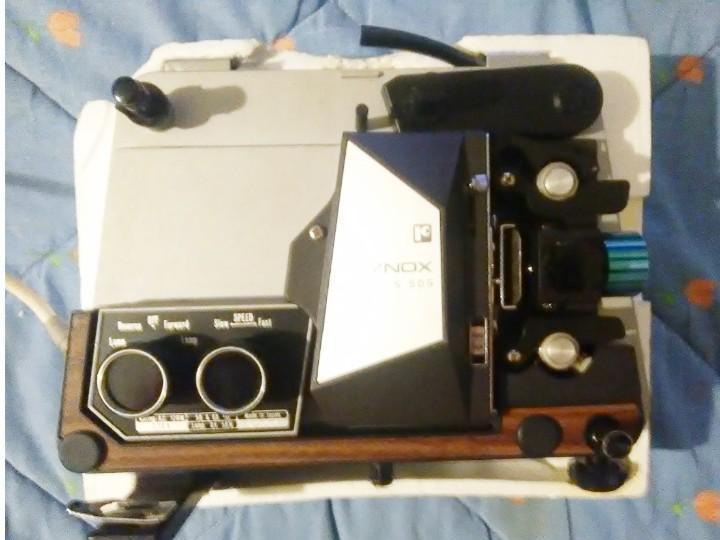 Proyecto de cine raynox 8 mm. años 70 funciona