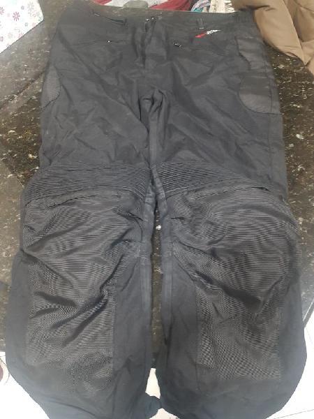 Pantalón cordura moto para hombre rocco line star