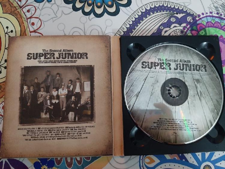 Súper junior 2nd álbum