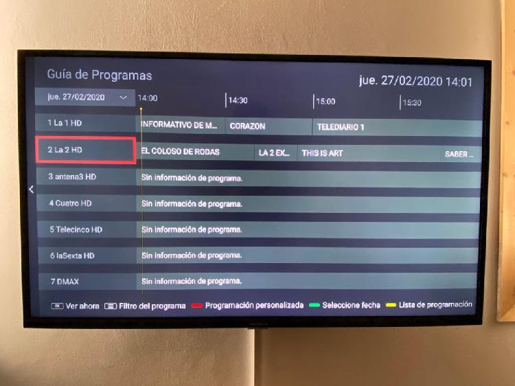 Televisor de 43¨ 4k smart tv