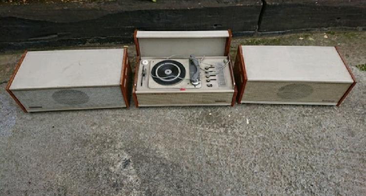 Tocadiscos gramafono kolster