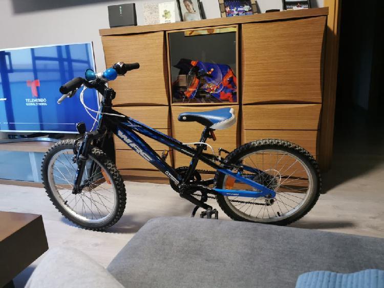 Bicicleta wrc conor 20 pulgadas