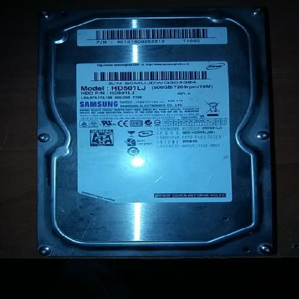Disco duro sata samsung 500 gb