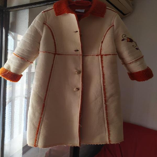 Abrigo largo niña talla 4