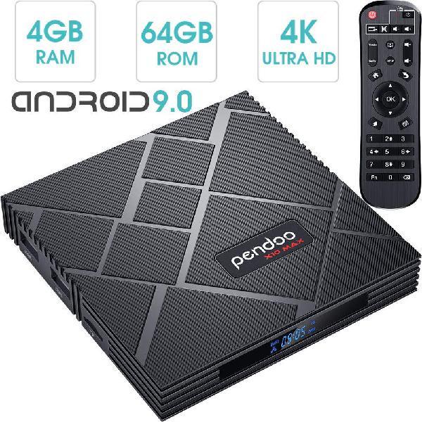 Android tv box - 4gb ram - 64gb rom - 4k ultra hd