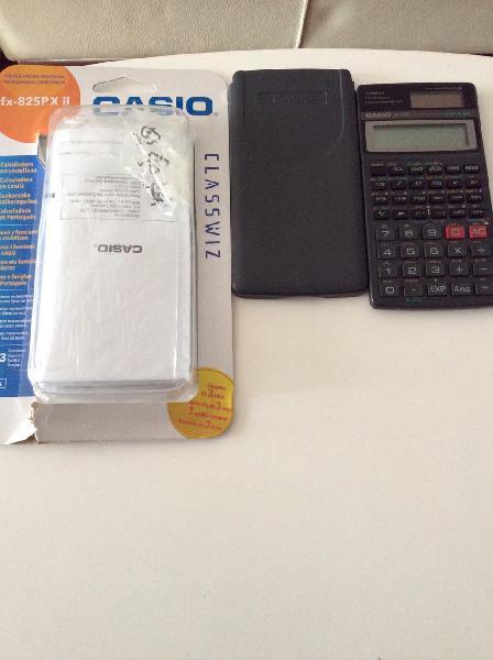 Calculadora Casio fx 82spxii. Sin usar. Nueva