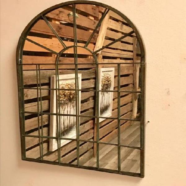 Espejo de hierro interior/exterior