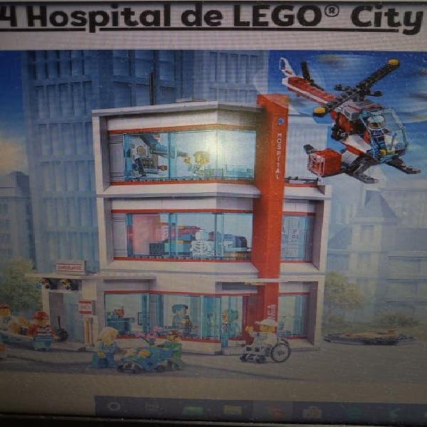 Hospital de lego.