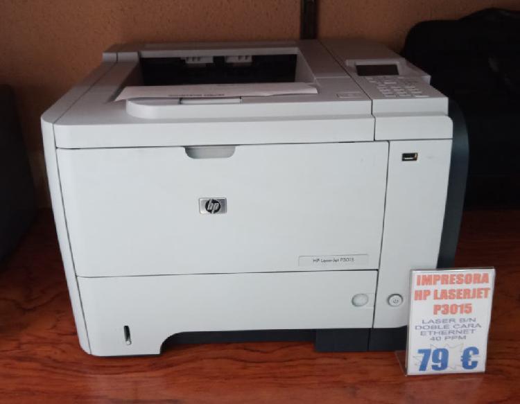 Impresora hp laserjet p 3015